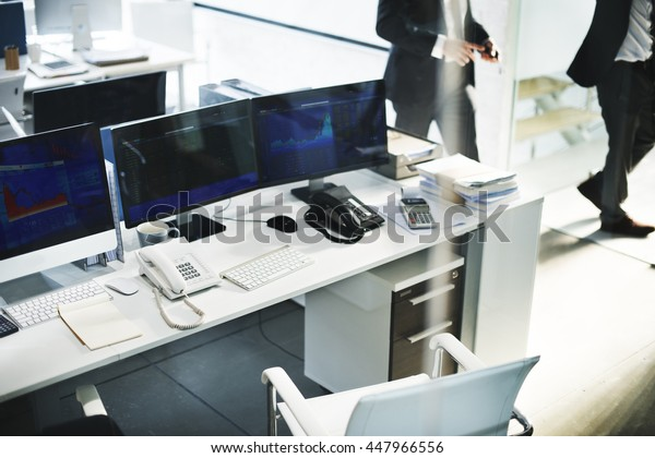 Workplace Office Social Growth Ideas Planning Concept