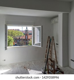 Works and renovations at home when the good weather arrives, Madrid Spain
