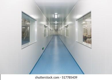 workshop hallway interior