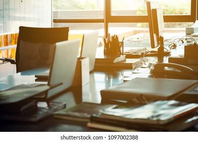 Workspace, Modern Office Interior