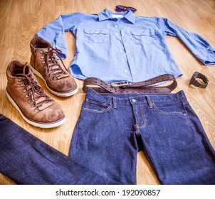 Workwear stylish clothes for men
