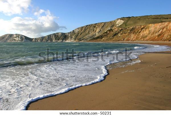 Worlbarrow Bay, Dorset
