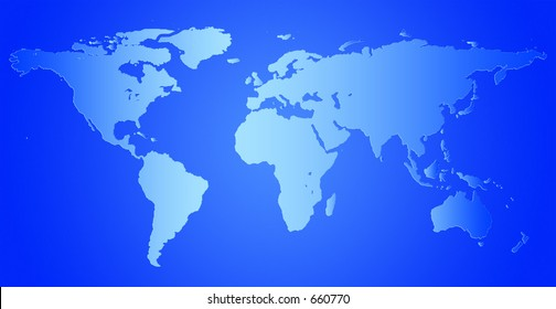 World aqua map