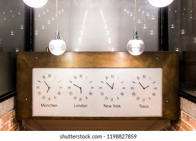 World city clock time
