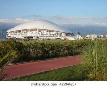 World Cup 2018 in Russia, Football Stadium in Sochi, July 15, 2015
