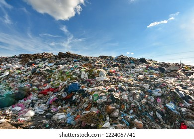 World Environment Day Garbage plastics from industrial and urban areas. Degraded by natural methods. Difficult and expensive budget to eliminate the pollution is huge quantities are put together.