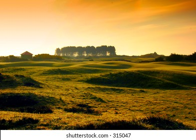 World famous carnoustie golf course 2