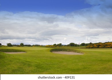 World Famous Carnoustie Golf Course, scotland