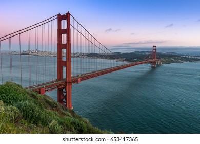 World Famous landmark, Golden Gate Bridge
