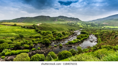 The world famous Ring of Kerry is a 'must do' scenic tourist drive or cycle in County Kerry, in the south west of Ireland. Very foggy but still beutiful. Wild Atlantic Way