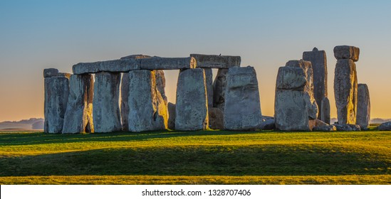 World famous rocks of Stonehenge in England - travel photography
