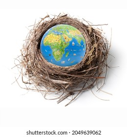 world habitat day, international world habitat day, national world habitat day, world on the bird nest