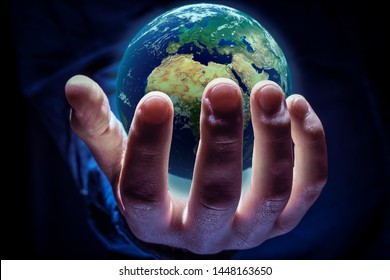 The world in the hand