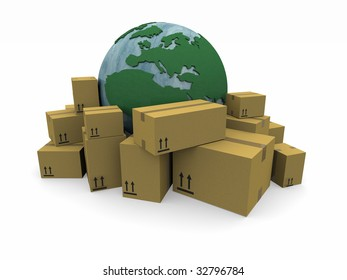 The world with a heap of packages