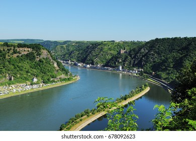 World Heritage Middle Rhein Valley at the Loreley