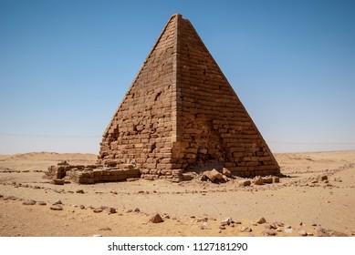 World heritage, Pyramid in Sudan