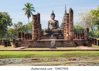 World heritage Sukhothai historical park, Thailand