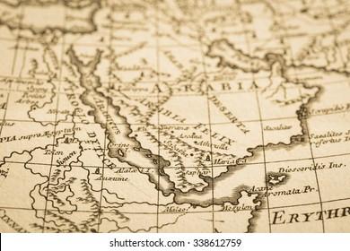Arabian Peninsula Map Images, Stock Photos & Vectors ... on