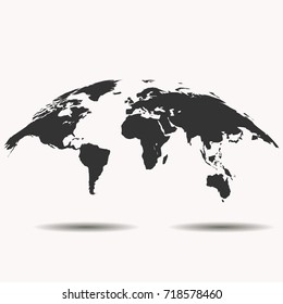 World map background for web