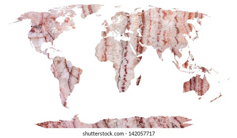 Poster background korea map images stock photos vectors world map continents in stone background gumiabroncs Gallery