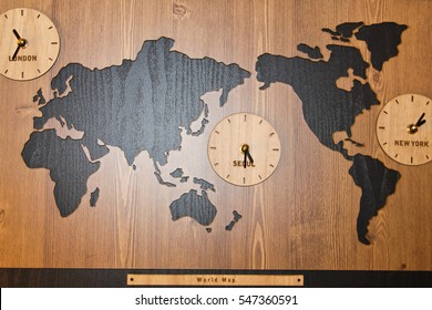 Usa Time Zone Map Stock Photos, Images & Photography ...