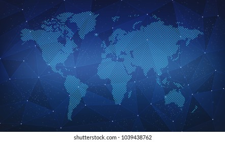 Digital world map images stock photos vectors shutterstock world map link digital backgrounds gumiabroncs Choice Image