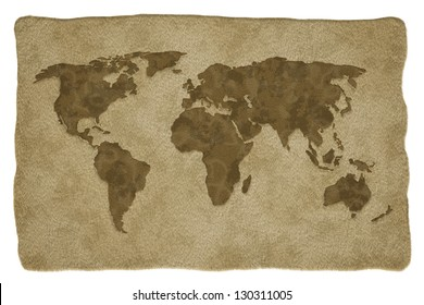 Animals world map imgenes pagas y sin cargo y vectores en stock world map on animal leather background gumiabroncs Gallery