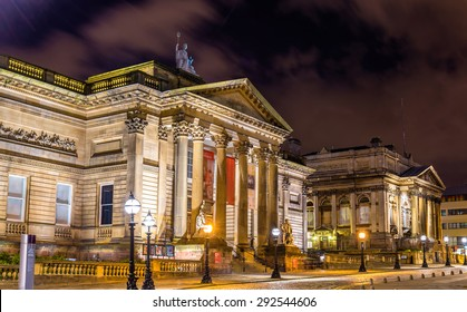 World Museum and the Walker Art Gallery in Liverpool, England