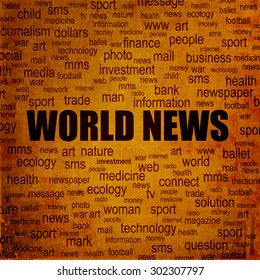 World news background