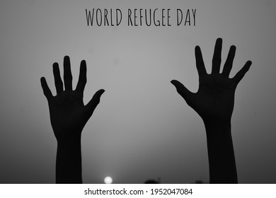 World Refugee Day. Concept of social event. 20 June-vector. International immigration concept background. Flat illustration or vector concept background for web design, banner or card. - Shutterstock ID 1952047084