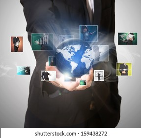 world of technology picture in hand