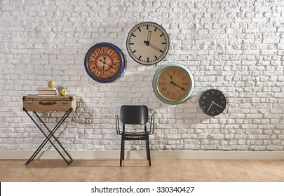 world time interior concept