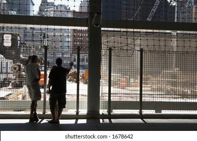 World trade center building sight