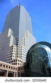 World Trade Center detail, Manhattan, New York