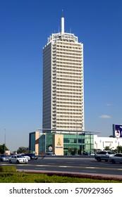 World Trade Center in Dubai City, Vereinigte Arabische Emirate, Naher Osten 5. February 2004