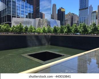 World trade Center memorial pond, New York