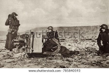 World War 1 Battle Argonne Forest Stock Photo Edit Now 785840593