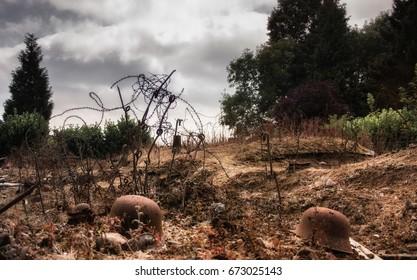World War 1 no mans land