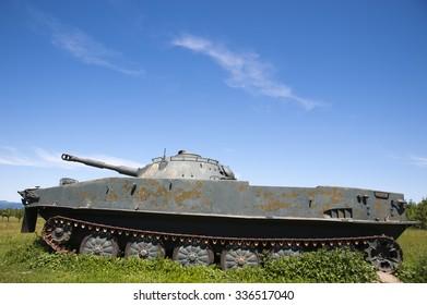 World War 2 military tank