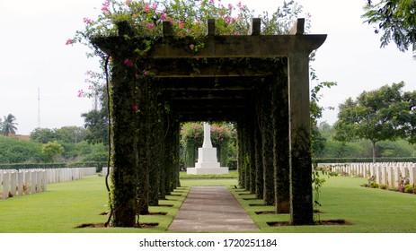 World War Cemetery - Chennai, India