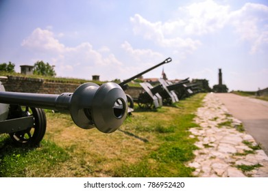 World War I heavy cannon