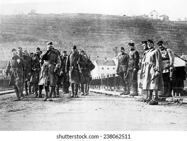WORLD WAR I: Americans march into Germany Undated photo