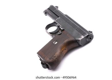World War II officer pistol