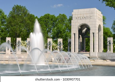 World War (( Memorial in Washington DC - United States