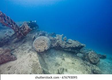 world war two car underwater million dollar point santo vanuatu