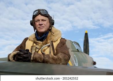 World War Two Fighter Pilot
