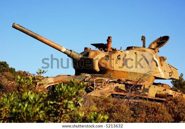 World war two german military tank, Greece