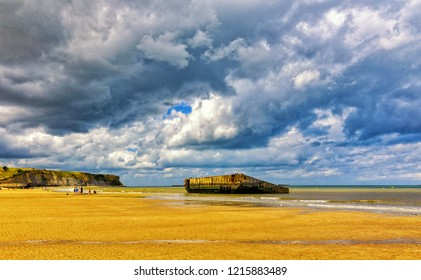 World War Two Sites in Europe, Arromanches, Normandy, France