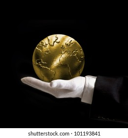 World is yours gold