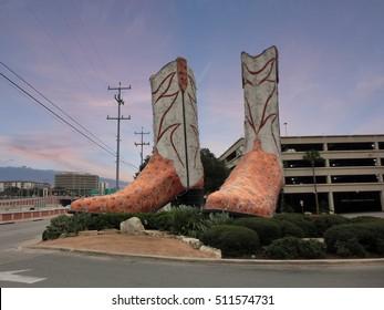 World's largest cowboy boots. Austin, Texas